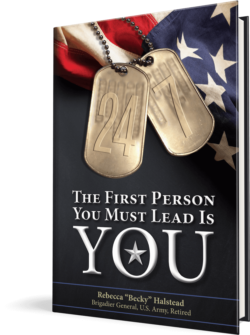 The First Person You Must Lead is YOU - Rebecca 'Becky' Halstead